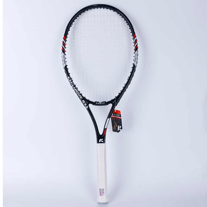 1 Pcs Tennis Racket Raquets Carbon Fiber High-quality Nylon For Women men Training Entertainment With Bag Ball String Sweatband