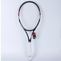 1 Pcs Tennis Racket Raquets Carbon Fiber High quality Nylon For Women men Training Entertainment With Bag Ball String Sweatband