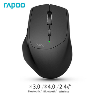 Image 2 - Rapoo MT550 Wireless Mouse, Switch between Bluetooth & RT 2.4G,Easy Connected to 4 devices, for Laptop PC/Tablet/Sarmt phone