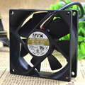 Free Delivery. 8025 F8025B12E 12 v 0.1 A 3 line double ball bearing cooling fan 80 * 80 * 25 mm