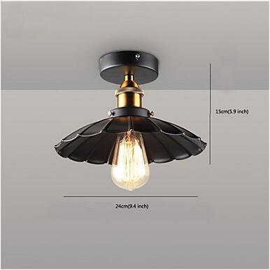 Flush Mount Vintage Retro ceiling Light Fixtures Living Room Lights LED Ceiling Lamp Industrial Luminaire Plafonlamp