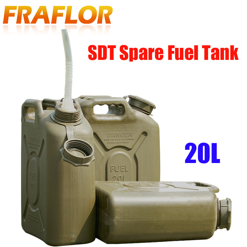 Humor Thickened 20l Oil Can Engineering Plastic Spare Fuel Tank Jerrycan Anti-static Diesel Barrel Explosion-proof Gasoline Jerry Can Complete In Specifications