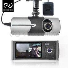 Doal Camera Car DVR Dashcam X3000 R300 with 2.7″ GPS Car DVRs Vehicle Camera Video Recorder Dash Cam Dashboard Portable Recorder