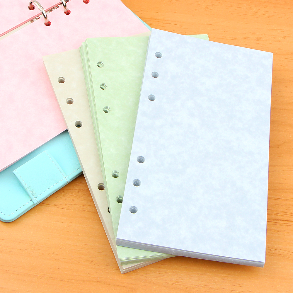 A5 A6 Vintage Notebook Papers Pages Planner Filler Paper Inside Page Gifts Stationery Office School Supplies