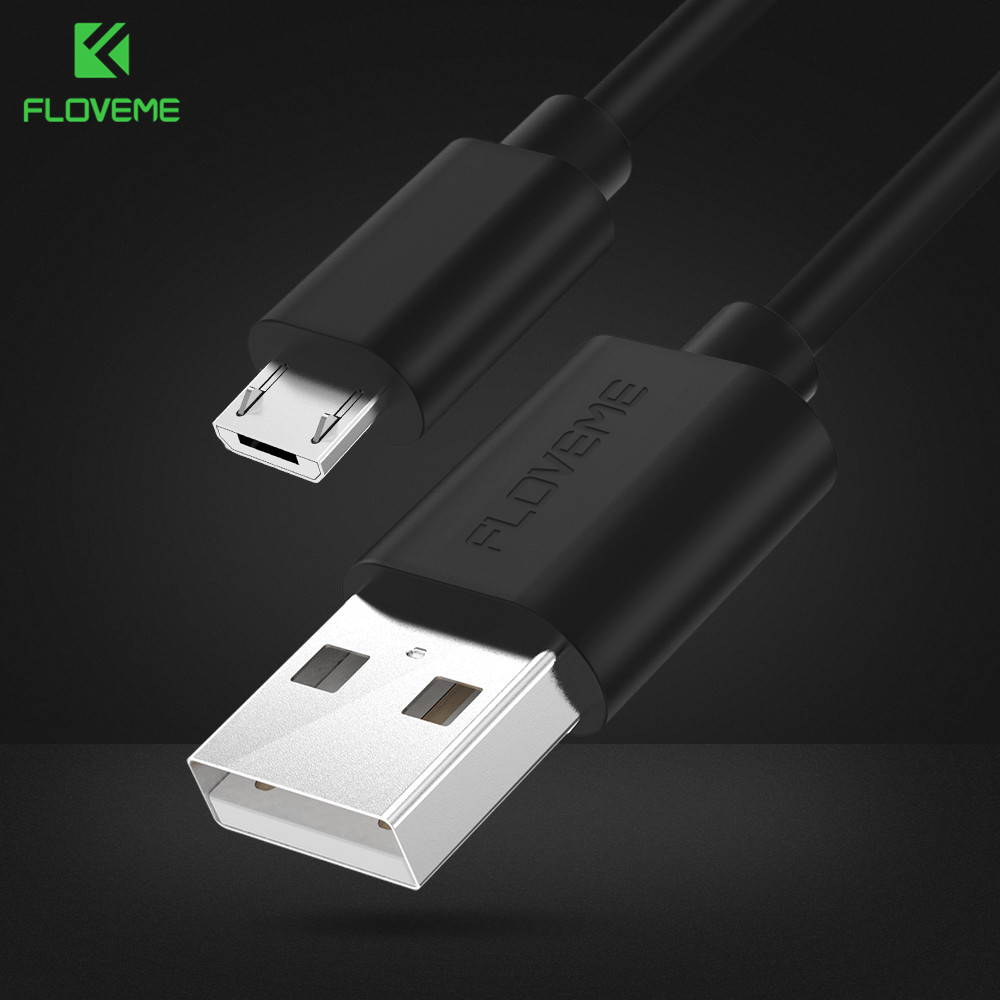 FLOVEME Micro USB Cable 5V/2A Fast Charging 1m 2m 0.3m s