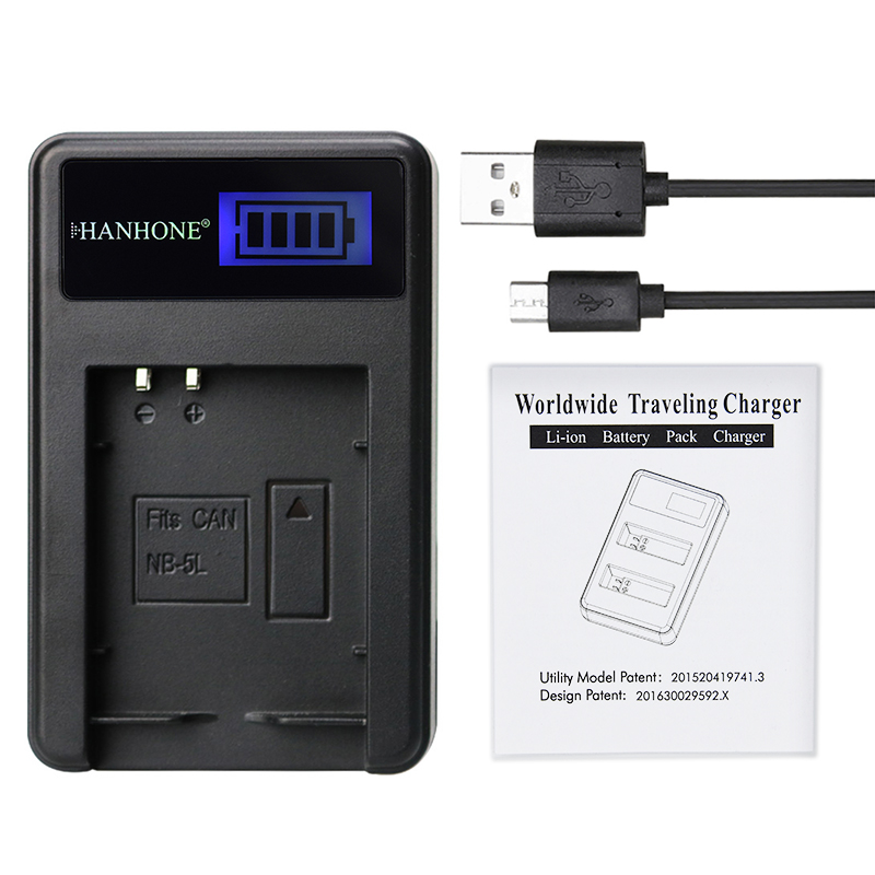 Back To Search Resultsconsumer Electronics Camera Charger Nb-5l Nb 5l Charger Lcd Usb Battery Charger For Canon Powershot S100 Sx230 Hs Sx210 Issd790 Is Sd950 Sd900 Sd990 Z1 Battery Attractive Appearance