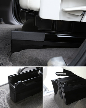 For Land Rover Discovery 5 LR5 L462 2017 2018 Car Aluminum alloy The Second Seat Increase Height Strips Trim 4Pcs