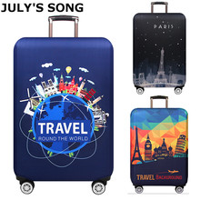 Thicken Luggage Cover 18-32 Inch Suitcase Elastic Protection Covers Trolley Baggage Dust Case Cover Travel Accessories