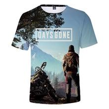 New Men t shirt Days Gone Game 3D Harajuku Summer Short sleeve Trendy Tshirt Men/Women Hot Print Casual Hip Hop Tops