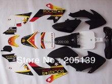 Peças de corrida motocicleta sujeira pit bicicleta CRF50 3 m gráficos decalques kit adesivo e plástico cheio para MOTO HONDA xr 50 CRF50 50CC