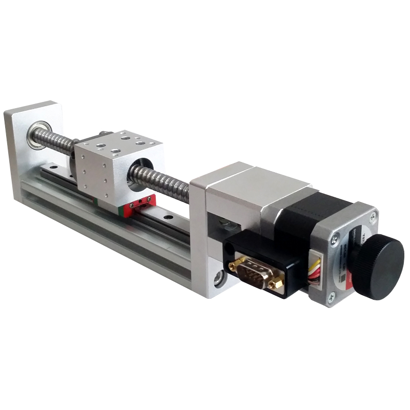 PT-GLX100-Y 100/200 X Axis Motorized Linear Stage Displacement platform ,Optical Sliding Table Translating platform pt xy15 motorized microscope stage motorized linear stage electric xy integral combinating platform 15mm travel linear table