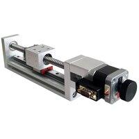 PT GLX100 Y 100/200 X Axis Motorized Linear Stage Displacement platform ,Optical Sliding Table Translating platform