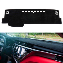 For Toyota Camry 8th XV70 2018 2019 Car Dashboard Cover Mat Pad Sun Shade Instrument Protective Dashmat Dash Carpet Accessories