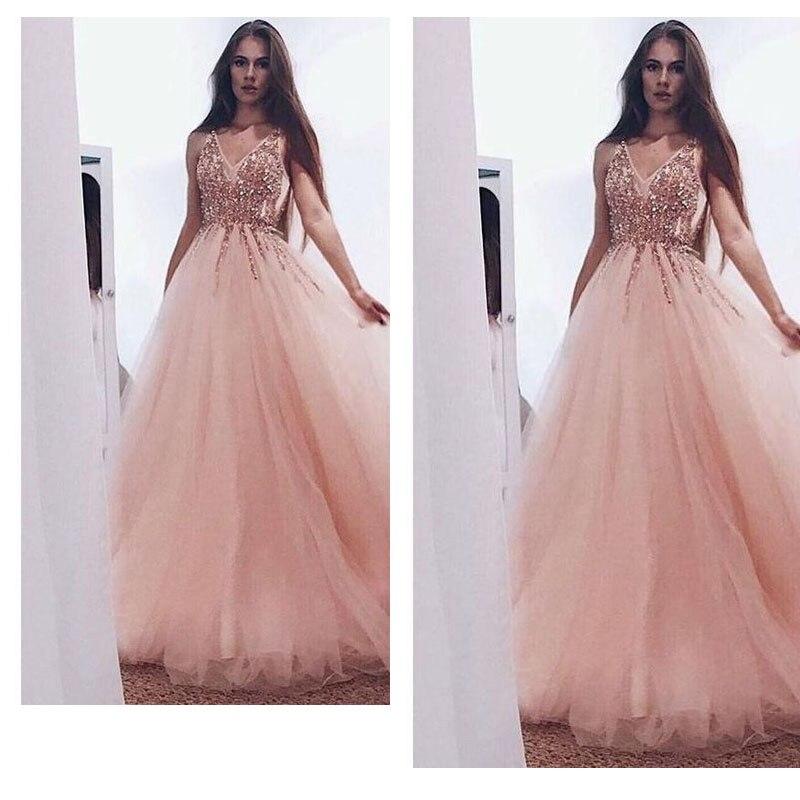 Robe de soirée 2019 SoDigne cristal sans bretelles Sexy perlé hors de l'épaule robes de bal offre spéciale une ligne filles robe à la fête