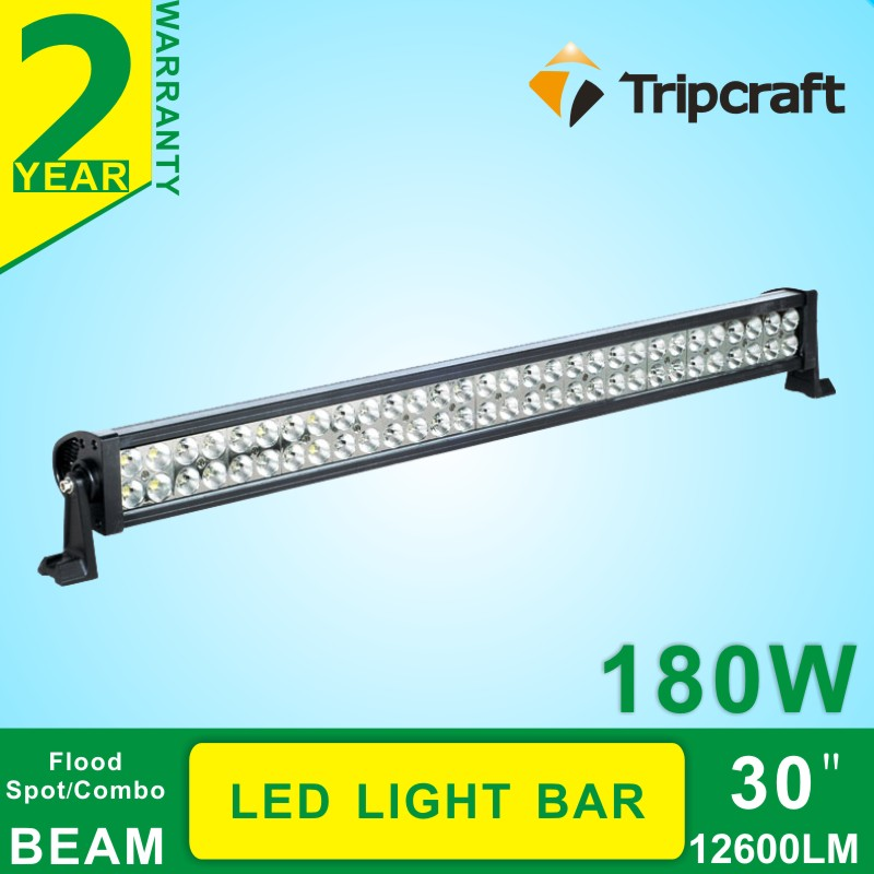 180w Auto Driving Running Light waterproof Epistar Chip LED Car Ramp, Head Bar Lamp truck led ramp 36w led light bar with ip67 waterproof rate