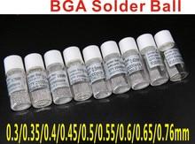 Shopping Free 0.25mm/0.3mm/0.35mm/0.4mm/0.45mm/0.5mm/0.55mm/0.6mm/0.76mm/solda bga bola 25000 pcs/bottle