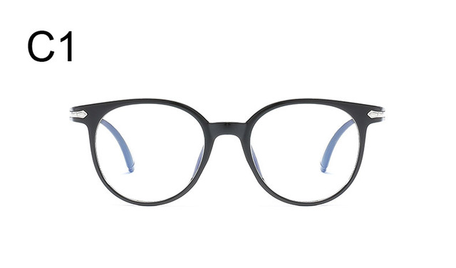2632ec5ff92 Korean Fashion Clear Glasses Frame Anti Blue Light Glasses Women ...