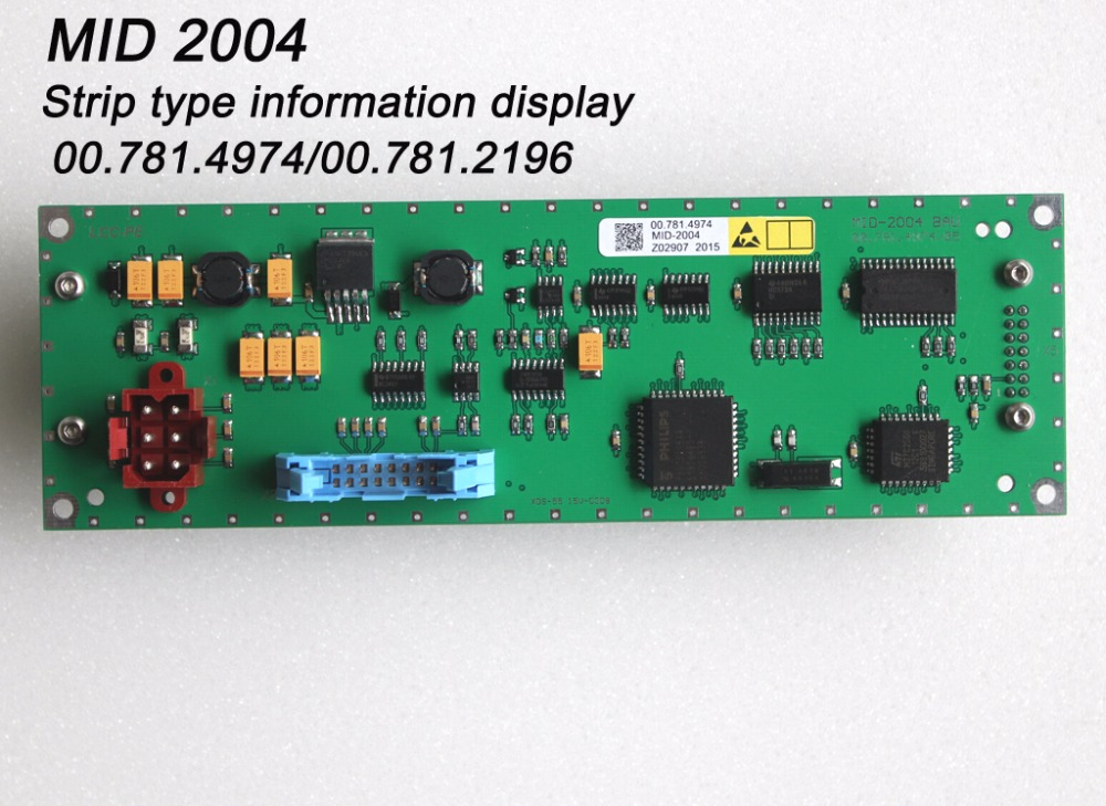 small strip information display module MID2004 00 781 4974 CP tronic board display screen for Heidelberg