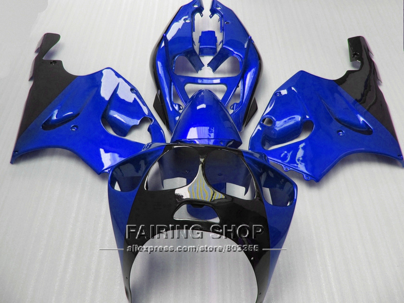 Blue *For Kawasaki ninja High quality Fairings ZX7R 1996 1997 1998 1999 2000 2001 2002 2003 96-03 fairing kit +Ems free a87 new hot winter fur hat children real fox raccoon fur hat with leather 2017 russia fashion warm bomber cap luxury good quality