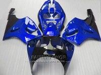 Blue *For Kawasaki ninja High quality Fairings ZX7R 1996 1997 1998 1999 2000 2001 2002 2003 96 03 fairing kit +Ems free a87