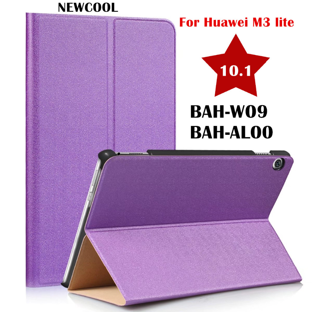 Smart Leather Case Flip Cover For Huawei MediaPad M3 Lite 10 10 1 10 0 BAH