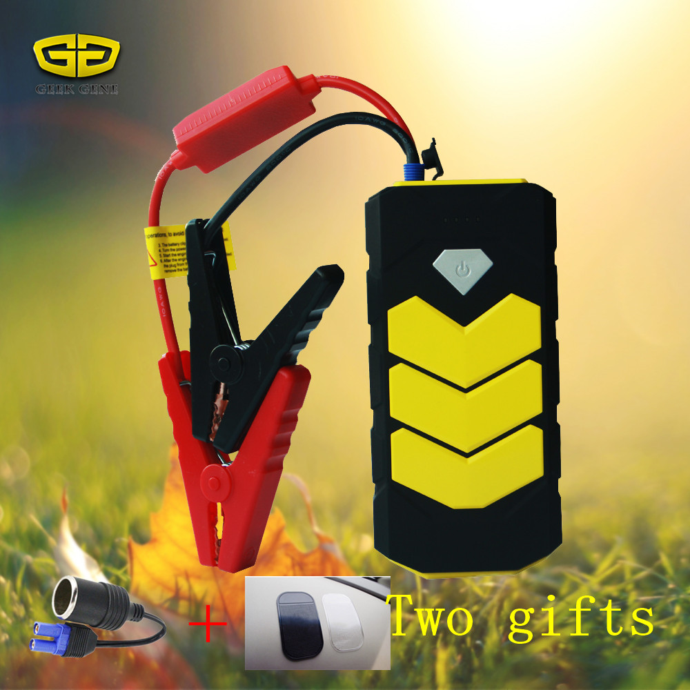 2017 New Good performance Mini portable1 2v car battery booster Motorcycle boat battery charger Starting device