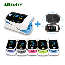 Athphy Finger Pulse Oximeter OLED Display Digital Blood Oxygen Saturation Meter SPO2 PR Pulsioximetro Oximetro De Dedo Wholesale цены онлайн