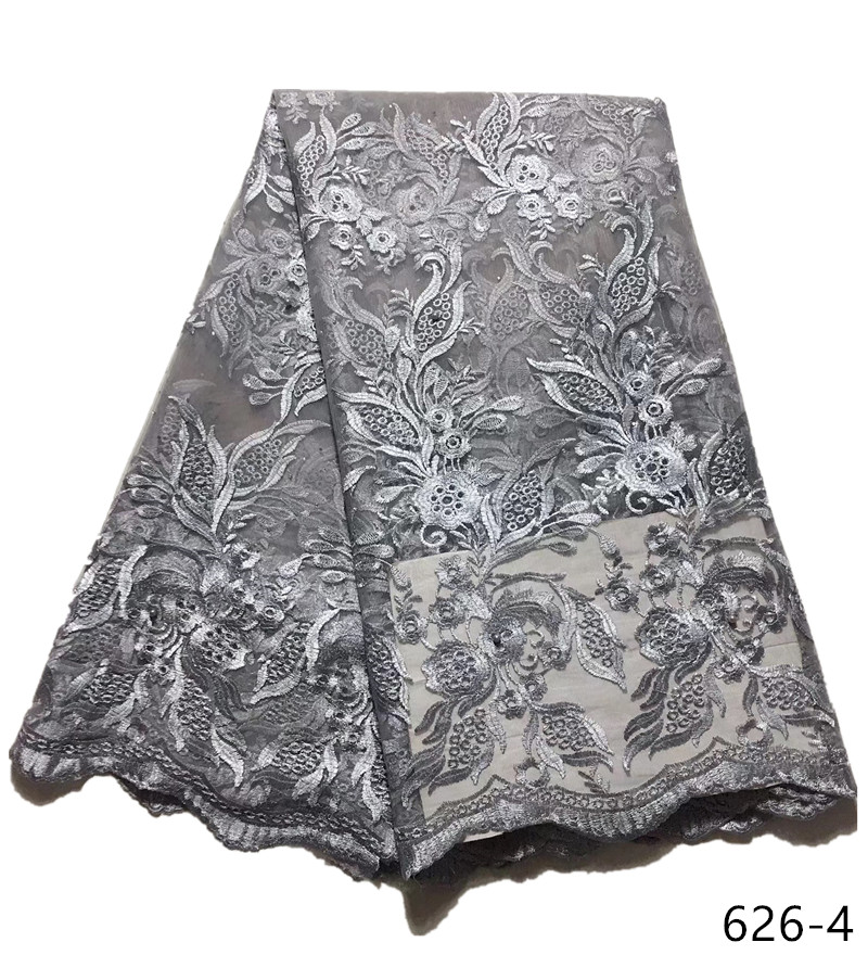 2019 top selling african cord lace wine High quality french lace fabric African mesh lace fabric for nigerian wedding 626 in Lace from Home Garden