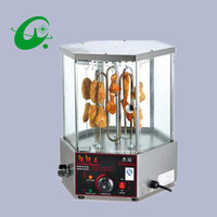 Commercial Automatic Rotary Mutton 33 Strings Roaster rotary kebab Grill oven electrical  kebab machine
