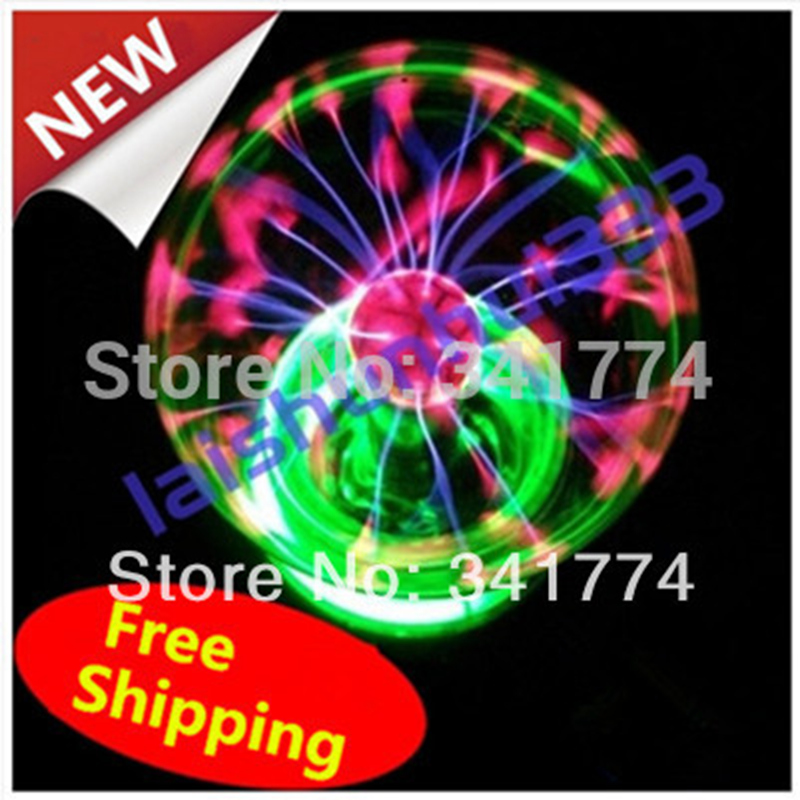 Novelty 8 in Magic Plasma Ball Lighting lamp Induction Night Lights Gift for Kids Child Party Bar Outdoor Luminaria Decoration magic ball 8 доставка снг