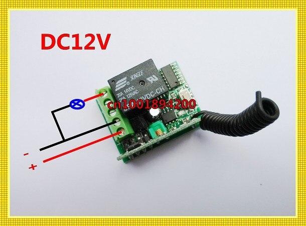 1000 м RF Беспроводной пульт управления, ресивер передатчик 12 V Беспроводной переключатель мини M4/T4/L4 регулировать добавить контроллер свободно