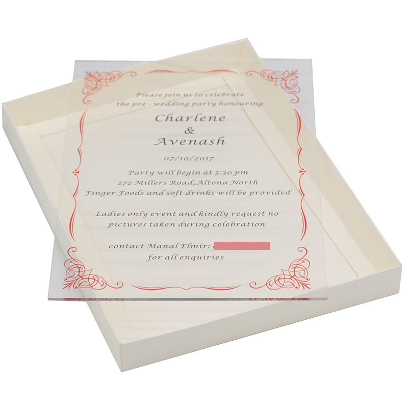 Us 12 8 New Products Ideals 2018 Uv Printing Or Engraving Wedding Invitation Card For Wedding Party Decoration Products Supply In Cards