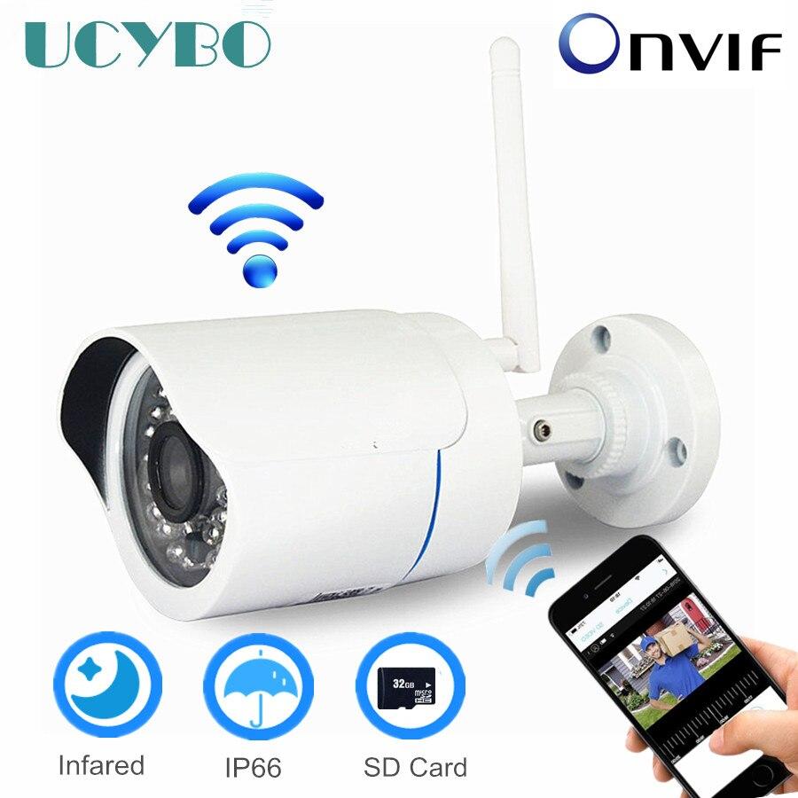 Caméra IP sans fil WIFI 720 P HD en plein air TF carte SD CCTV surveillance de sécurité wifi caméra intelligente CamHi compatible avec hikvision