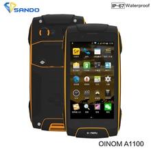 Oinom A1100 LMV11 LMV11H Водонепроницаемый IP68 ударопрочный телефон 3300 мАч Quad Core MT6582 4.5 inch 1 г Оперативная память 8 г встроенная память WCDMA V9D V8 V9 A8 F6