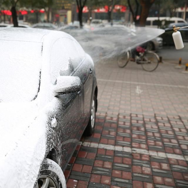 Car Washer Snow Foam Lance 1000ml High Pressure Soap Foamer Cleaner Auto Washing Adjustable Nozzle Sprayer For Karcher K Series