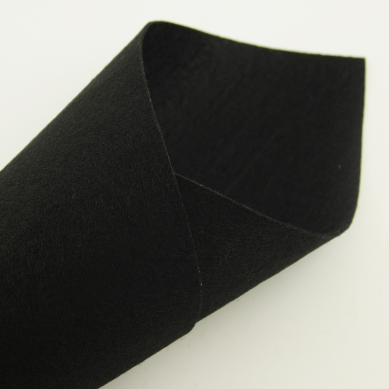 100% Polyester Hats Bags Shoes Art Work Wedding Cupma Tradmarks 1mm Thick Black Colour Photographic Backgrounds Felt Fabric Bags