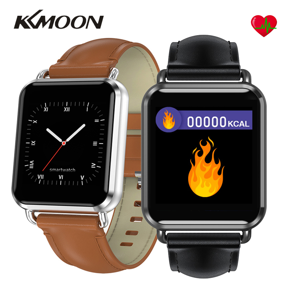 KKMOON Q13 Smart Watch Men Women ECG PPG Calorie Blood Pressure Life Waterproof Pedometer Sports Smartwatch