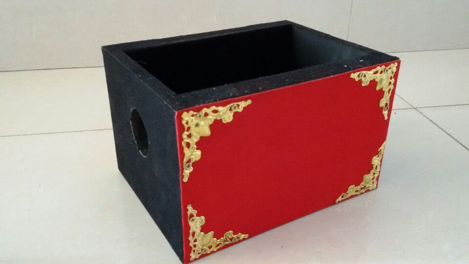 Шелковый через огонь коробка фокусы шарф Appeairng Magica маг этап Иллюзия трюк реквизит забавные