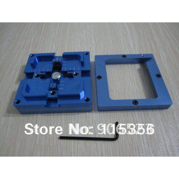 Free shipping single frame 80mm BGA reballing station PCB holder jig
