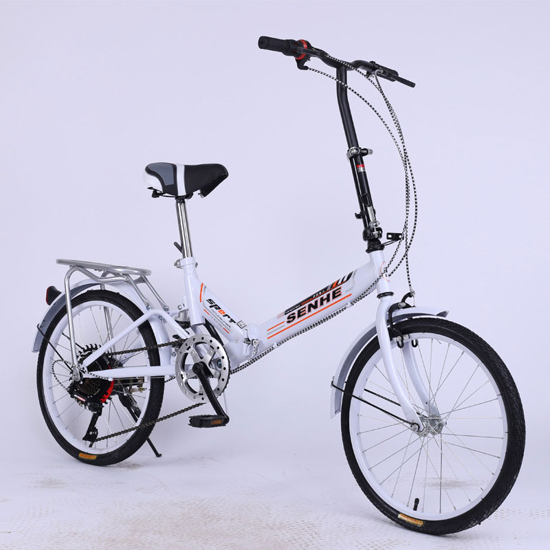 Folding Bicycles 20 Inch Single Speed For Men And Women