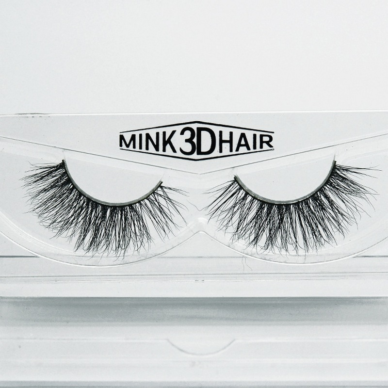 False Eyelashes Real Mink 3d False Eyelashes Natural Long Thick Volume Individual Eyelashes Mink Eyelash Vendors Strip Lashes Private Label Neither Too Hard Nor Too Soft Beauty & Health