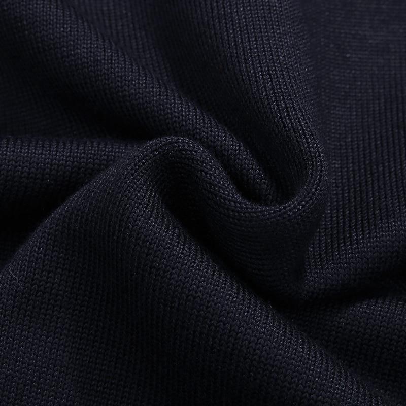 Slim Casual 5xl Longues marine Pollover 8xl Agasalho Noir Masc Hommes Bleu cou Vêtements Patchwork 6xl Marque D'o Chandail Fit Mâle 4xl Manches Solid pfpzIxq