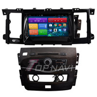 Topnavi 8'' Quad Core Android 6.0 Car GPS Navigation for Nissan Patrol 2012 Autoradio Multimedia Audio Stereo,NO DVD