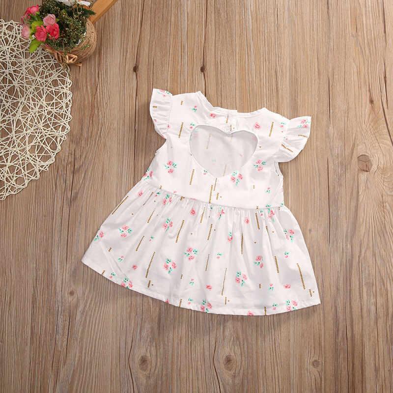 Летнее платье для маленьких девочек вечерние платья-пачки принцессы на свадьбу