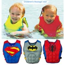 Dětská plavecká vesta s logem akčního hrdiny, 2-6 roky