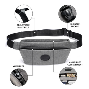 Image 3 - NewBring Summer Small Sling Bag Hip Waist Packs Shoulder Bum Belt Bags For Men Fanny Bag Waterproof Phone Money New Male Female