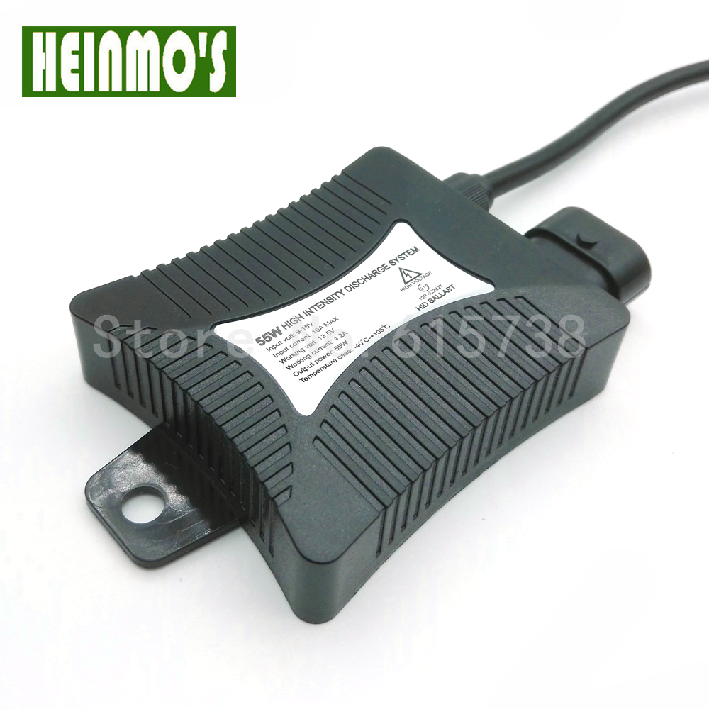heinmo l/ámpara de 55/W Niebla DRL luz Coche l/ámpara de xen/ón HID lastre para H1/H3/H7/H8/H9/H11/880/881/9005/HB3/9006/HB4/6000/K