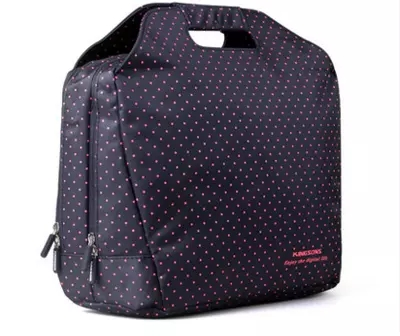 Kingsons Fashion circle dot notebook Laptop bag 13/14 inch Portable for Apple Laptop laptop bag free shipping