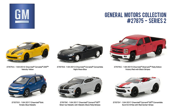 Green Light Motors >> Us 67 07 19 Off Green Light 1 64 General Motors Collection 2 Boutique Alloy Car Toys For Children Kids Toys Model Original Box In Diecasts Toy