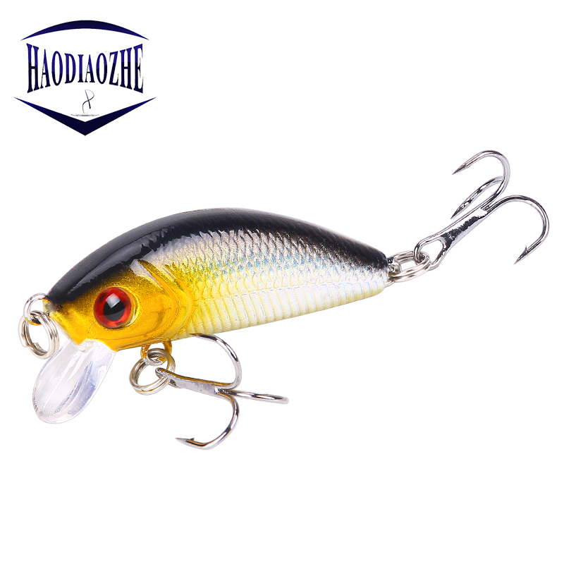 Minnow Fishing Lures 5cm 4g Floating Isca Artificial Japan Hard Bait Bass Topwater Pesca Wobblers Crankbait Carp Fishing Tackle